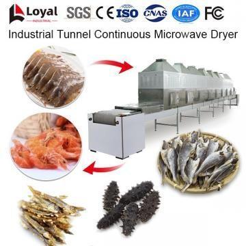 Secador de Microondas Contínuo de Túnel Industrial