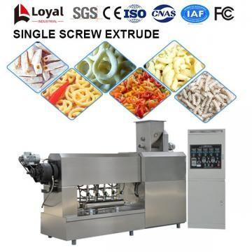 Extrusora de parafuso único para processamento de alimentos