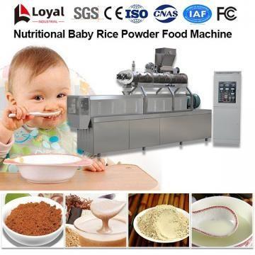 Linha de Processamento de Alimentos em Pó de Arroz Bebé Nutricional