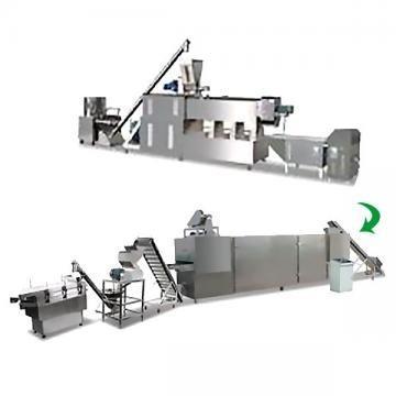 Linha de produção de migalhas de pão